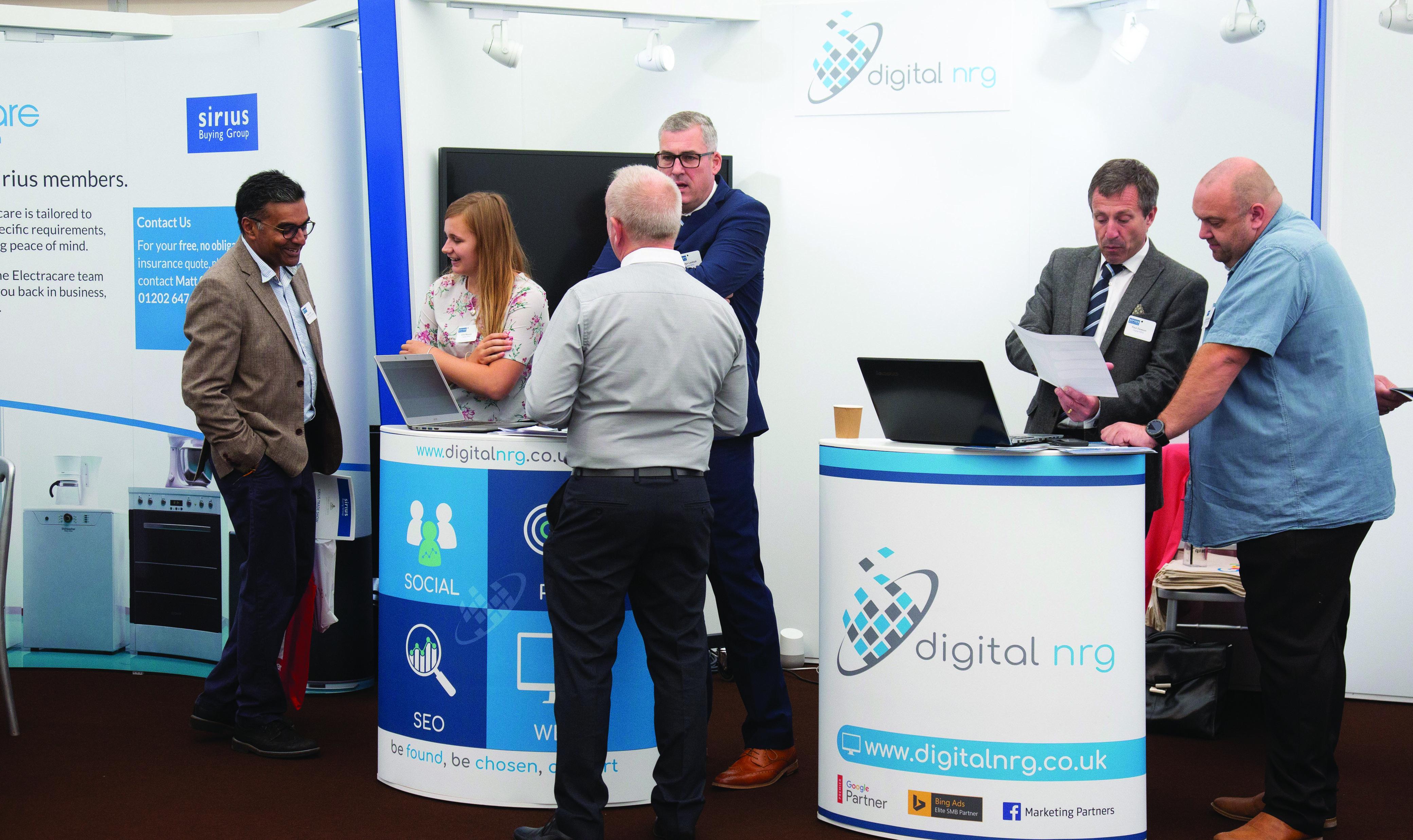 Digital NRG at Sirius Trade Show – High res (1) – Copy