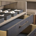 _Mayfair Bronze Drawers by Daval - HR2b