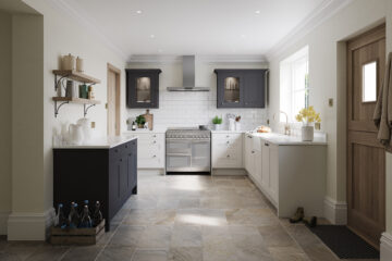 Meltham in Dove Grey & Charcoal finishes by Daval