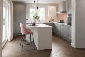 Meltham in NEW Dust Grey finish by Daval