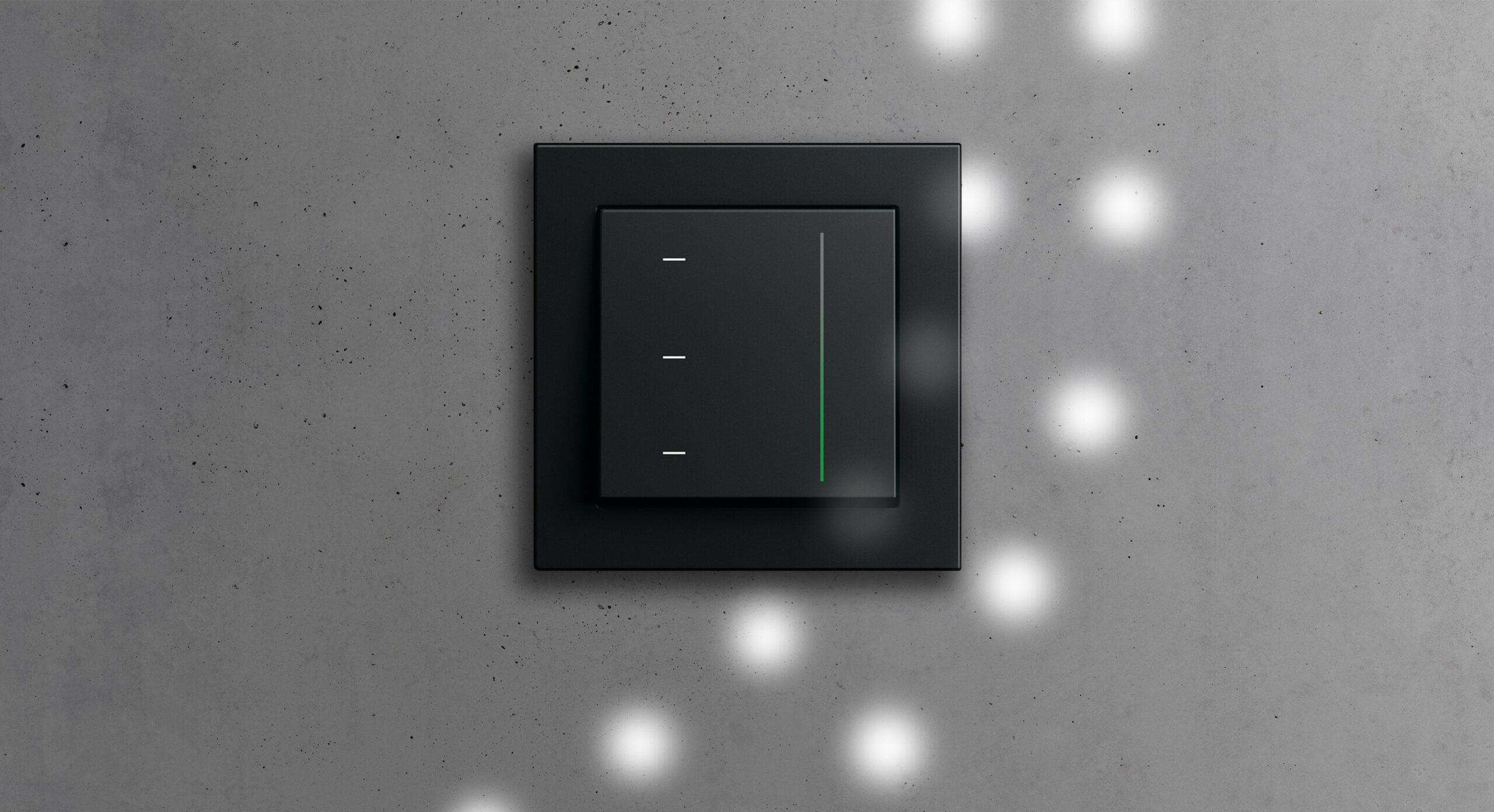 _Gira System 3000 new top unit, black_HR2
